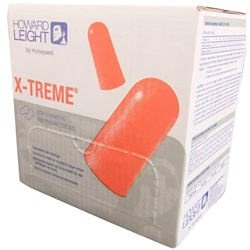 Howard Leight X-TREME™ XTR-1 26dB CL5 Uncorded Earplugs (Bx 200pr)