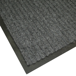 Brushed Ribbed 0.9m x 1.5m Indoor Entrance Mat