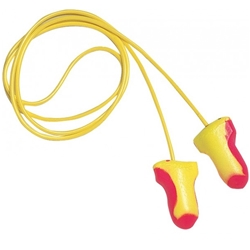 Howard Leight LASER LITE™ LL-30 25dB CL5 Corded Earplugs (Bx 100pr)
