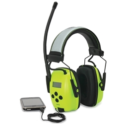 Howard Leight Sync™ 26dB CL5 Hi-Vis AM/FM Radio MP3 Earmuff
