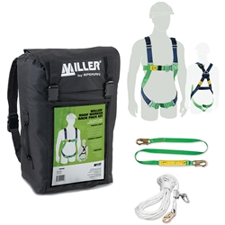 Miller® Roof Worker Back Pack Kit M1070014