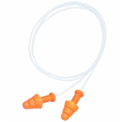 Howard Leight SMARTFIT™ SMF-30W-PA 16dB CL2 Process Industry Corded Earplugs (Bx 100pr)