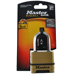 Master Lock® 50mm Excell Reset Combo Padlock M175DLFAU