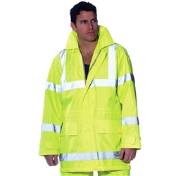 Huski 3M™ Taped Hi Vis Waterproof Airport Jacket