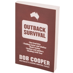 Bob Cooper Outback Survival Book BOBBOOK