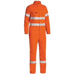 Bisley Tecasafe® Plus FR Taped Vented Coveralls
