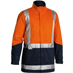 Bisley 3M™ Taped Hi-Vis 3 in 1 Drill Jacket