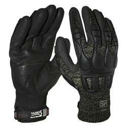 Blue Rapta Force Impact Resistant Mechanic Gloves