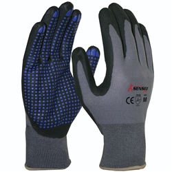 Blue Rapta Sensei Air Nitrile Grip Gloves