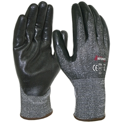 Blue Rapta Sensei C5 Nitrile Palm Gloves