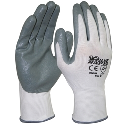 Blue Rapta Sensei Nitrile Foam Coat Gloves