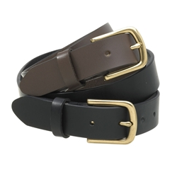 Buckle Drover Belt with Gold Buckle 30mm