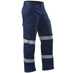 ELEVEN Workwear Essential Drill Cargo Work Pant w/ 3M™ BioMotional Tape