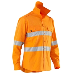 ELEVEN Workwear AeroCOOL Hi-Vis Perforated 3M™ Taped Shirt