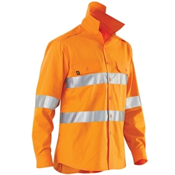 ELEVEN Workwear AeroCOOL Hi-Vis 3M™ Taped L/S Shirt