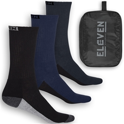 ELEVEN Workwear Cotton/Poly Work Socks (Pk 10)