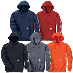 Carhartt Workwear Midweight Sleeve Logo Hooded Sweatshirt