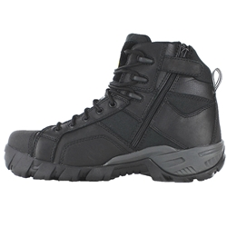 CAT® Argon Black Hi Z/Sided Steel Toe Safety Boots