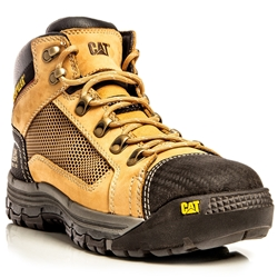 CAT® Convex Honey Z/Sided Steel Toe Safety Boots
