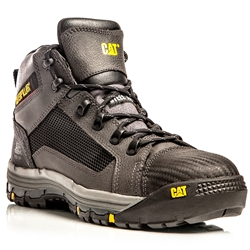 CAT® Convex Black Z/Sided Steel Toe Safety Boots