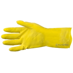 Pro-Val Thrifty Flock Lined Rubber Gloves