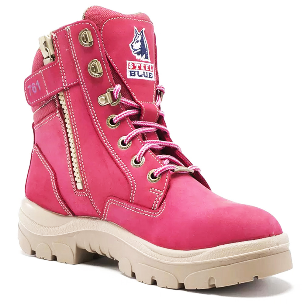 Zip Steel Toe Safety Boots 512761