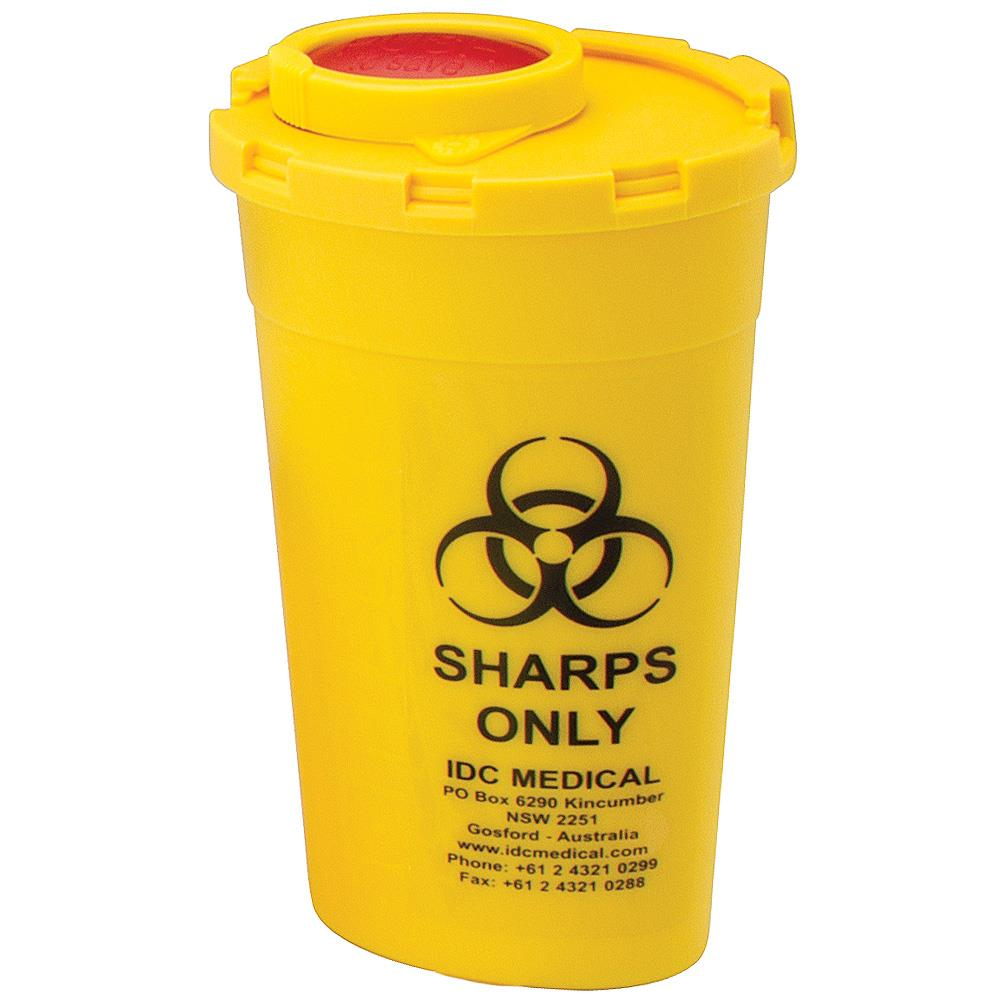 Idc Medical 200ml Sani Safe Sharps Container Qssani