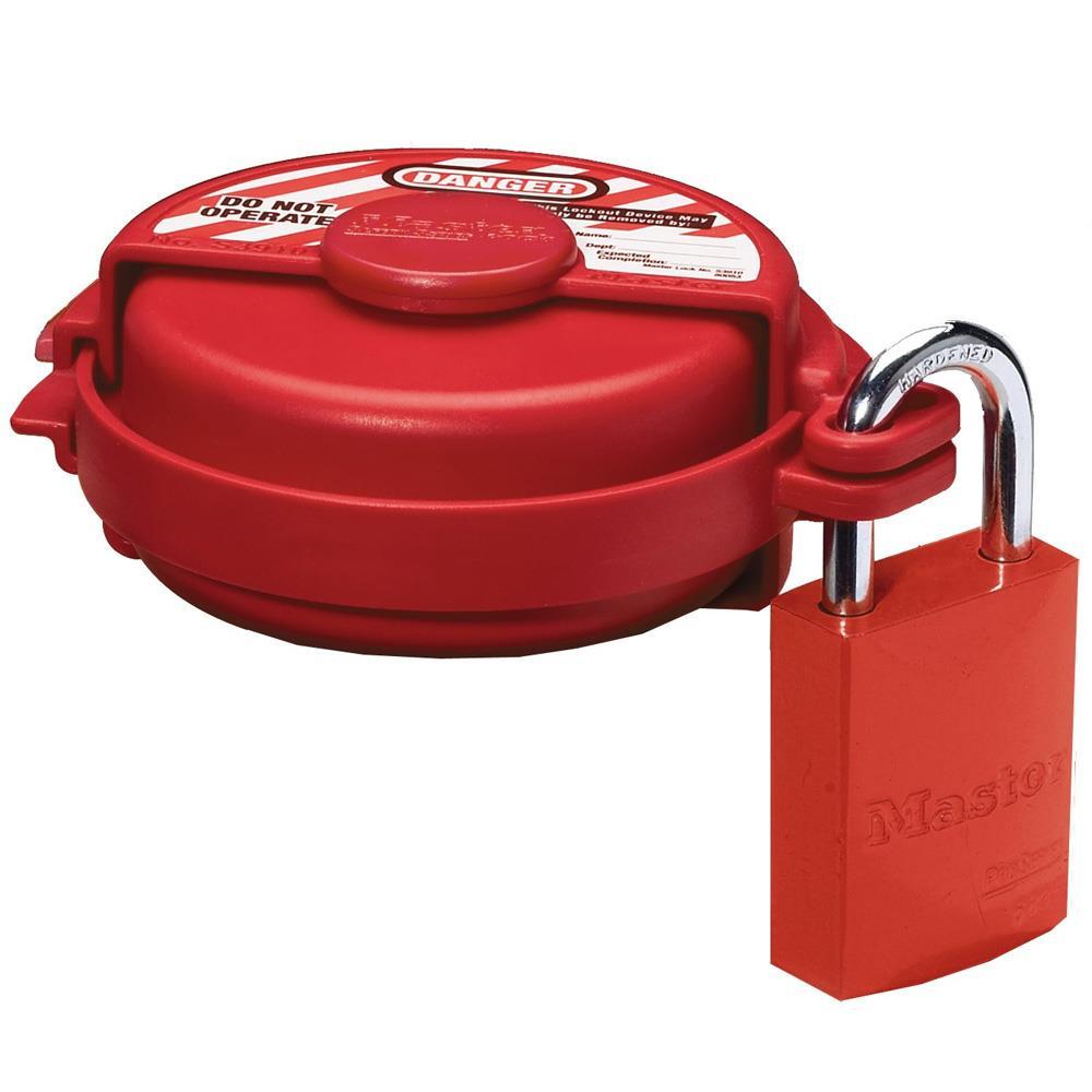 Master Lock 174 Pressurized Gas Valve Lockout S3910