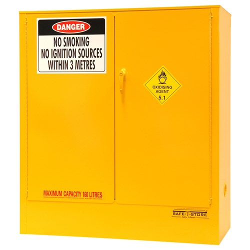Storemasta 160L Flammable Liquid Storage Cabinets SC160
