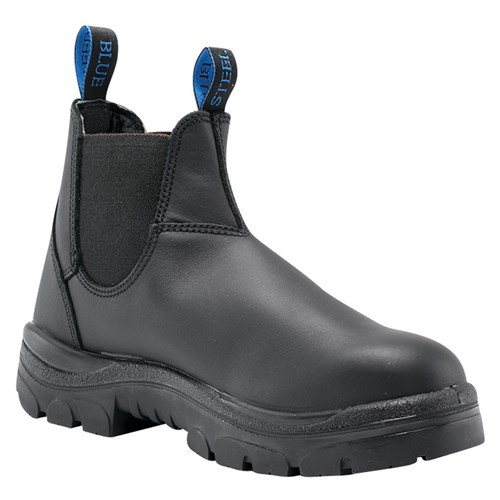 Steel Blue Hobart Elastic Sided Steel Toe Safety Boots 312101