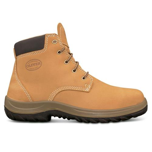137622249d3 Oliver Wheat Lace Up Ankle Safety Boots 34-632