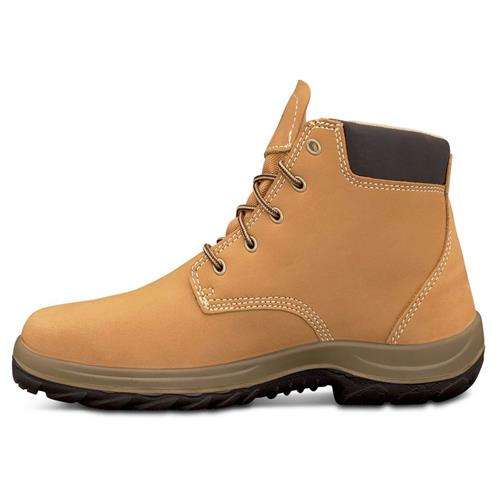 Oliver Wheat Lace Up Ankle Safety Boots 34-632