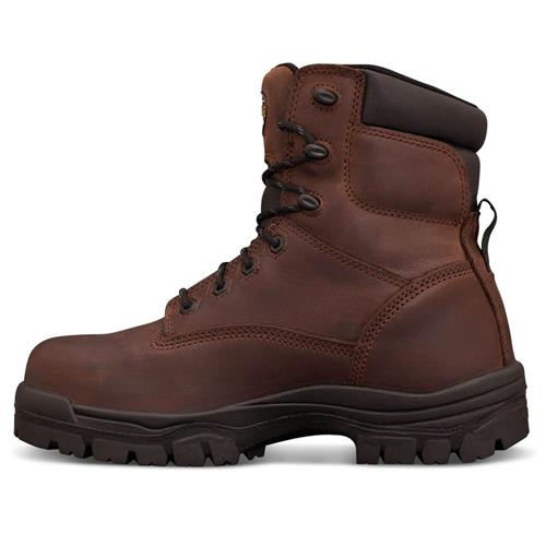 04671db9905 Oliver 150mm Brown Lace Up Safety Boots 45-637