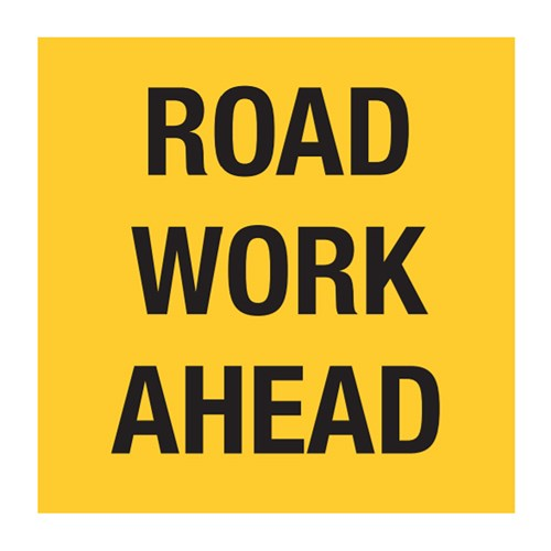 Roadwork Ahead 600x600mm Multi-Message Sign CT284-42H