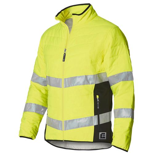 ELEVEN Workwear Hi-Vis Bio-Motion Taped Quilted Jacket