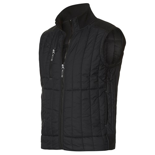 ELEVEN Workwear Vertical Quilted Vest