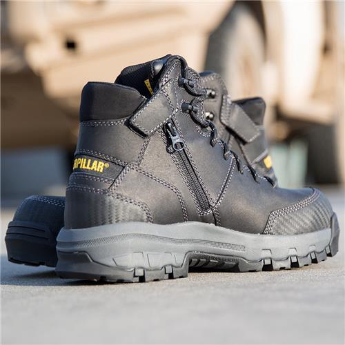 eec3170fd18 CAT® Footwear Device Zip Sided Waterproof Safety Boot
