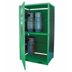 Storemasta Forklift Gas Bottle Storage Cage 12 Bottles GF12