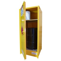 Storemasta 250L Vertical Flammable Liquid Storage Cabinets SCV