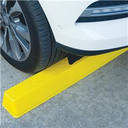 Barrier Group 1700mm Yellow Wheel Stop CWS1700Y