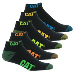 CAT® Workwear Ankle Socks (Pk 5)