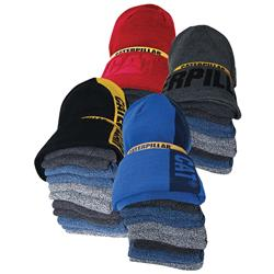 CAT® Workwear Sock & Beanie (Pk 7) Bundle