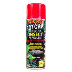 Red-Eyed Gotcha! Insect Repellent 150g Aerosol REG150A