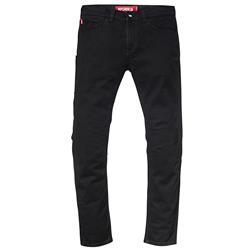 SAINT WORKS 5 Pocket Black Stretch Denim Jean