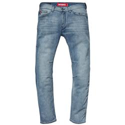 SAINT WORKS 5 Pocket Washed Indigo Stretch Denim Jean