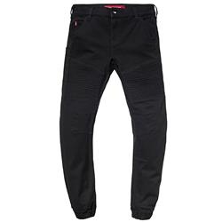 SAINT WORKS Black Stretch Flight Jean