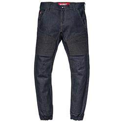 SAINT WORKS Raw Indigo Stretch Flight Jean