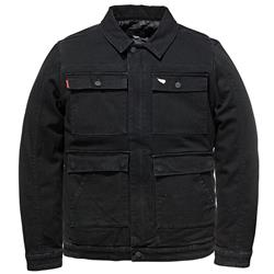 SAINT WORKS Stretch Black Denim Jacket