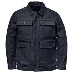 SAINT WORKS Stretch Raw Indigo Denim Jacket