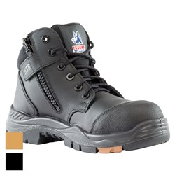 Steel Blue Parkes Zip Composite Toe Safety Boots w/ Scuff Cap 317538